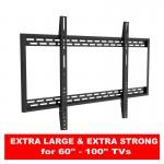 Fits Samsung TV model UE60H6200AKXXU Black Flat Slim Fitting TV Bracket