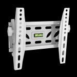 Fits Samsung TV model 40HC890 White Tilting TV Bracket