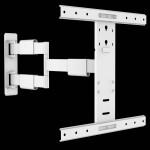Fits Samsung TV model 40HC890 White Swivel & Tilt TV Bracket