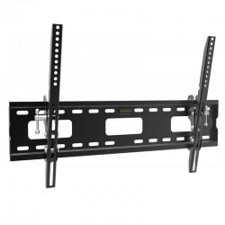 Fits Samsung TV model QB49R Black Tilting TV Bracket